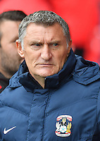 Coventry City's Manager Tony Mowbray<br /> <br /> Photographer Dave Howarth/CameraSport<br /> <br /> The EFL Sky Bet League One - Fleetwood Town v Coventry Town - Saturday 3 September 2016 - Highbury Stadium - Fleetwood<br /> <br /> World Copyright © 2016 CameraSport. All rights reserved. 43 Linden Ave. Countesthorpe. Leicester. England. LE8 5PG - Tel: +44 (0) 116 277 4147 - admin@camerasport.com - www.camerasport.com