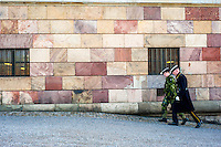 Guards at the Royal Palace - Street scenes from Stockholm