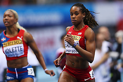 07.03.2014, Ergo Arena, Sopot, POL, IAAF, Leichtathletik Indoor WM, Sopot 2014, Tag 1, im Bild JANAY DELOACH SOUKUP // JANAY DELOACH SOUKUP during day one of IAAF World Indoor Championships Sopot 2014 at the Ergo Arena in Sopot, Poland on 2014/03/07. EXPA Pictures © 2014, PhotoCredit: EXPA/ Newspix/ Piotr Matusewicz<br /> <br /> *****ATTENTION - for AUT, SLO, CRO, SRB, BIH, MAZ, TUR, SUI, SWE only*****