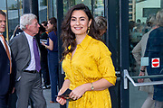 Koninklijk paar aanwezig bij opening Holland Festival 2019, het 72e Holland Festival in Theater Amsterdam<br /> <br /> Royal couple present at opening of Holland Festival 2019, the 72nd Holland Festival in Theater Amsterdam<br /> <br /> Op de foto / On the photo:  Nadia Moussaid