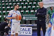 DESCRIZIONE : Beko Legabasket Serie A 2015- 2016 Dinamo Banco di Sardegna Sassari - Olimpia EA7 Emporio Armani Milano<br /> GIOCATORE : Rok Stipcevic Flavio Portaluppi<br /> CATEGORIA : Fair Play Before Pregame<br /> SQUADRA : Dinamo Banco di Sardegna Sassari<br /> EVENTO : Beko Legabasket Serie A 2015-2016<br /> GARA : Dinamo Banco di Sardegna Sassari - Olimpia EA7 Emporio Armani Milano<br /> DATA : 04/05/2016<br /> SPORT : Pallacanestro <br /> AUTORE : Agenzia Ciamillo-Castoria/L.Canu