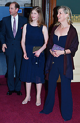 Members of The Royal Family attend The Queen's Birthday Party at the Royal Albert Hall, London, UK, on the 21st April 2018. Picture by John Stillwell/WPA-Pool. 21 Apr 2018 Pictured: Prince Edward, Earl of Wessex, Lady Louise Windsor, Sophie, Countess of Wessex. Photo credit: MEGA TheMegaAgency.com +1 888 505 6342
