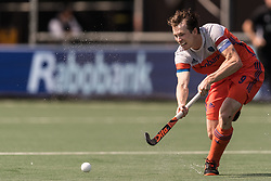 Seve van Ass of The Netherlands during the Champions Trophy match between the Netherlands and India on the fields of BH&BC Breda on June 30, 2018 in Breda, the Netherlands