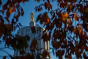 USA, Oregon, Salem, Oregon Capitol Building.