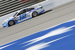 November 3, 2018 - Ft. Worth, Texas, United States of America - Ryan Blaney (12) takes to the track to practice for the AAA Texas 500 at Texas Motor Speedway in Ft. Worth, Texas. (Credit Image: © Justin R. Noe Asp Inc/ASP via ZUMA Wire)