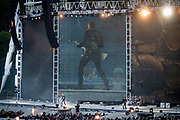 NO FEE PICTURES                                                                                                                                                8/6/19 Metallica's playing at their sold out concert, with 75,000 fans at Slane Castle in Co Meath. Picture: Arthur Carron