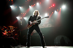© Licensed to London News Pictures . 15/12/2015 . Manchester , UK . Guitarist SCOTT GORHAM . Black Star Riders perform at the Manchester Arena . Photo credit : LNP