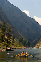 Rafting & Kayaking the Impassable Canyon.  Middle Fork of the Salmon River.  Frank Church-River of No Return Wilderness, Idaho.