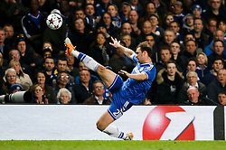 Chelsea Defender Branislav Ivanovic (SRB) in action - Photo mandatory by-line: Rogan Thomson/JMP - 18/03/2014 - SPORT - FOOTBALL - Stamford Bridge, London - Chelsea v Galatasaray - UEFA Champions League Round of 16 Second leg.