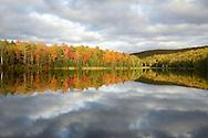 Reflections of all colors on Lake Plumbago<br /> Alberta, Michigan