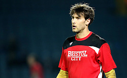 Fabian Giefer of Bristol City - Mandatory by-line: Robbie Stephenson/JMP - 14/02/2017 - FOOTBALL - Elland Road - Leeds, England - Leeds United v Bristol City - Sky Bet Championship