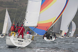 Day two of the Silvers Marine Scottish Series 2015, the largest sailing event in Scotland organised by the  Clyde Cruising Club<br /> Racing on Loch Fyne from 22rd-24th May 2015<br /> <br /> 4040C , Lemarac , B.Tunnock , CCC , Moody 38<br /> <br /> <br /> Credit : Marc Turner / CCC<br /> For further information contact<br /> Iain Hurrel<br /> Mobile : 07766 116451<br /> Email : info@marine.blast.com<br /> <br /> For a full list of Silvers Marine Scottish Series sponsors visit http://www.clyde.org/scottish-series/sponsors/