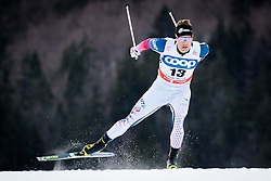 Hamilton Simeon (USA) during Man 1.2 km Free Sprint Qualification race at FIS Cross<br /> Country World Cup Planica 2016, on January 16, 2016 at Planica,Slovenia. Photo by Ziga Zupan / Sportida