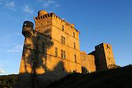 France, Languedoc Roussillon,Gard (30), Cevennes, chateau de Portes
