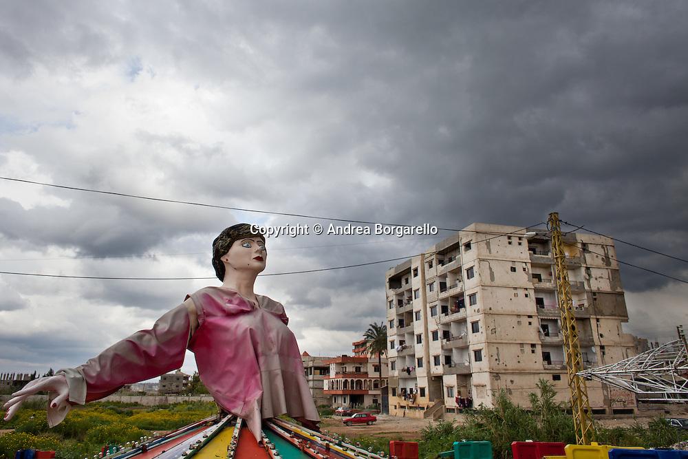 Playground, Nahr El Bared, North Lebanon