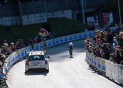 26.09.2018, Innsbruck, AUT, UCI Straßenrad WM 2018, Einzelzeitfahren, Elite, Herren, von Rattenberg nach Innsbruck (54,2 km), im Bild Tony Martin (GER) // Tony Martin of Germany during the men's individual time trial from Rattenberg to Innsbruck (54,2 km) of the UCI Road World Championships 2018. Innsbruck, Austria on 2018/09/26. EXPA Pictures © 2018, PhotoCredit: EXPA/ Reinhard Eisenbauer