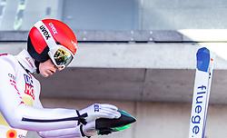 24.02.2019, Bergiselschanze, Innsbruck, AUT, FIS Weltmeisterschaften Ski Nordisch, Seefeld 2019, Nordischen Kombination, Teambewerb, Skisprung, Probesprung, im Bild Eric Frenzel (GER) // Eric Frenzel of Germany during the trial jump for the team competition Nordic Combined of FIS Nordic Ski World Championships 2019. Bergiselschanze in Innsbruck, Austria on 2019/02/24. EXPA Pictures © 2019, PhotoCredit: EXPA/ JFK
