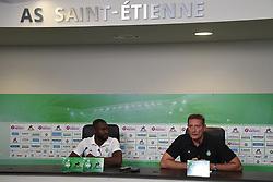 September 5, 2018 - L'Etrat - Centre De Formation Et, France - Frederic Paquet (directeur general) et Yannis Salibur (Credit Image: © Panoramic via ZUMA Press)