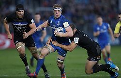 Leinster's Dan Leavy during the Heineken European Champions Cup, pool one match at The Recreation Ground, Bath. PRESS ASSOCIATION Photo. Picture date: Saturday December 8, 2018. See PA story RUGBYU Bath. Photo credit should read: David Davies/PA Wire. RESTRICTIONS: Editorial use only. No commercial use.