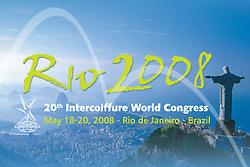 Imagens gratuitas para uso jornalístico da Intercoiffure Rio 2008, que acontece de 18 a 20 de maio de 2008, no InterContinental Rio Hotel, no Rio de Janeiro.