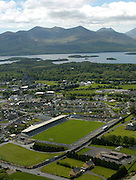 An aerial photo of Killarney town showing Fitzgerald Stadium, Kilalrney..Picture by Don MacMonagle