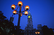 City Center Plaza, Dilworth Plaza with City Hall in the background, Philadelphia, PA