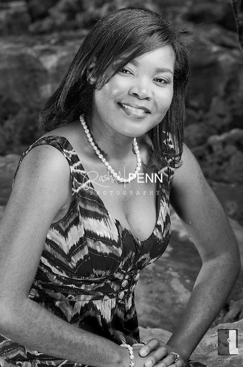 Top Fan photo shoot with November 2011 winner Deidree Williams