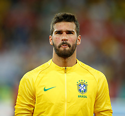 June 17, 2018 - Rostov Do Don, Rússia - ROSTOV DO DON, RO - 17.06.2018: BRAZIL VS SWITZERLAND - Alisson Becker from Brazil during a match between Brazil and Switzerland valid for the first round of Group E of the 2018 World Cup held at the Rostov Arena in Rostov on Don, Russia. (Credit Image: © Marcelo Machado De Melo/Fotoarena via ZUMA Press)