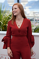 actress Jessica Chastain at the Members of the Jury photocall at the 70th Cannes Film Festival Wednesday May 17th 2017, Cannes, France. Photo credit: Doreen Kennedy