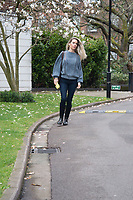 Leila Russack, Glamorous singer songwriter Leila Russack in Alberta Ferretti sweater and Paige denim