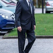 NLD/Leusden/20131107 - Uitvaart Leen Timp, Hans Wiegel