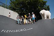 Start der Eisbär Paula Tour in Flensburg