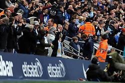 Tottenham Hotspur Manager, Andre Villas Boas walks back to the bench as Manchester City score - Photo mandatory by-line: Dougie Allward/JMP - Tel: Mobile: 07966 386802 24/11/2013 - SPORT - Football - Manchester - Etihad Stadium - Manchester City v Tottenham Hotspur - Barclays Premier League
