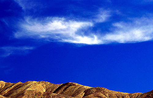 Scenic view in Death Valley National Park, CA<br />