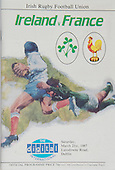 Rugby 1987-21/03 Five Nations Ireland Vs France