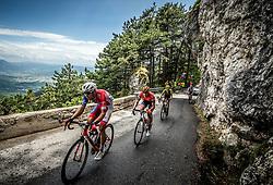 Radoslav Rogina (CRO) of Adria Mobil at Predmeja during 4th Stage of 26th Tour of Slovenia 2019 cycling race between Nova Gorica and Ajdovscina (153,9 km), on June 22, 2019 in Slovenia. Photo by Vid Ponikvar / Sportida