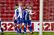 GOAL 0-1 Blackburn Rovers midfielder Joe Rothwell (8) scores a goal and celebrates to make the score 0-1 during the EFL Sky Bet Championship match between Middlesbrough and Blackburn Rovers at the Riverside Stadium, Middlesbrough, England on 24 January 2021.