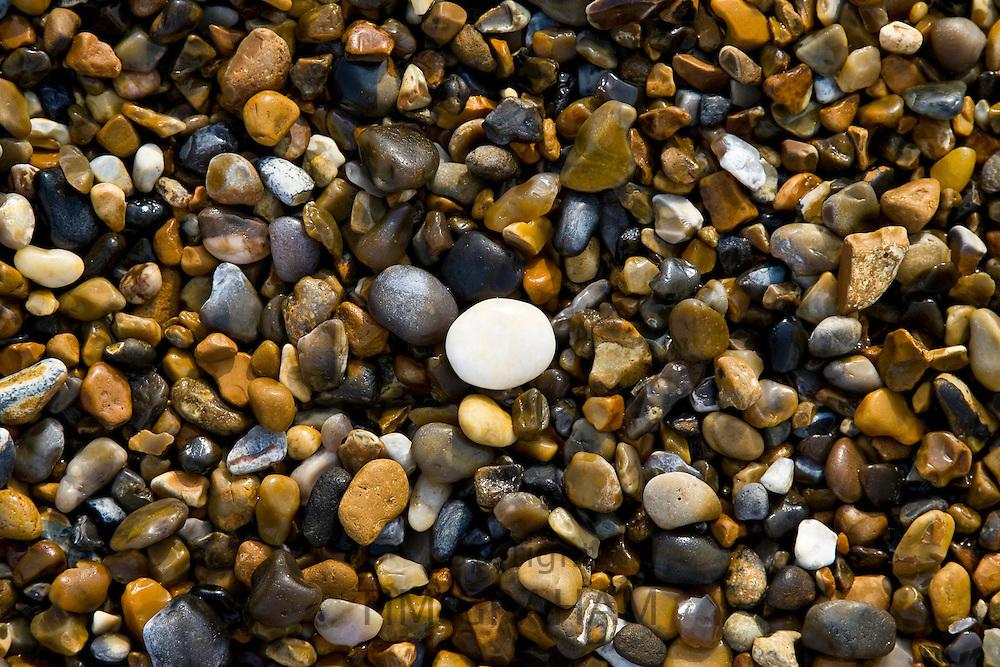 Pebbles at Cley Beach, Norfolk, United Kingdom