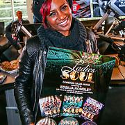 NLD/Hilversum/20160411 - CD en Gouden Plaat uitreiking aan de Ladies of Soul, Edsilia Rombley