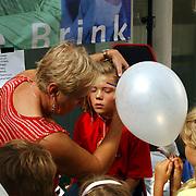 Bob de Bouwershow Gooische Brink ilversum, sminken kinderen, opmaken