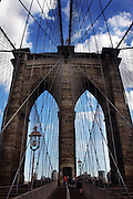 Brooklyn Bridge Manhattan New York city, NY, USA