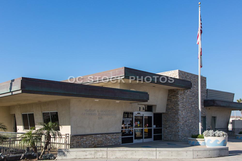 Huntington Beach Lifeguard Headquarters Vincent G. Moorehouse
