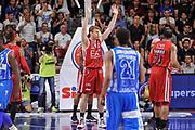 DESCRIZIONE : Campionato 2014/15 Dinamo Banco di Sardegna Sassari - Olimpia EA7 Emporio Armani Milano Playoff Semifinale Gara3<br /> GIOCATORE : Nicolo Melli<br /> CATEGORIA : Ritratto Delusione<br /> SQUADRA : Olimpia EA7 Emporio Armani Milano<br /> EVENTO : LegaBasket Serie A Beko 2014/2015 Playoff Semifinale Gara3<br /> GARA : Dinamo Banco di Sardegna Sassari - Olimpia EA7 Emporio Armani Milano Gara4<br /> DATA : 02/06/2015<br /> SPORT : Pallacanestro <br /> AUTORE : Agenzia Ciamillo-Castoria/L.Canu