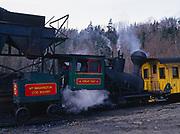 Steam engine for the Mt. Washington Cog Railway, New Hampshire.