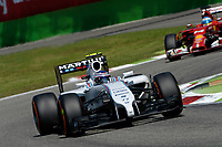 BOTTAS Valtteri (Fin) Williams F1 Mercedes Fw36 action  during the 2014 Formula One World Championship, Italy Grand Prix from September 5th to 7th 2014 in Monza, Italy. Photo Eric Vargiolu / DPPI