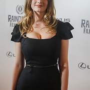 London, UK, 20th September 2017. Dakota Blue Richards is a ITV Endeavour attend Raindance 25th Film Festival Opening Gala at VUE Leicester Square.