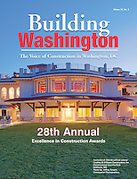 Building Washington Magazine Cover Image by DC Architectural Photographer Jeffrey Sauers of Commercial Photographics.