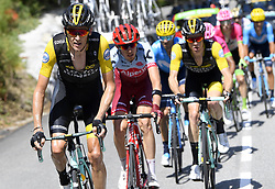 July 19, 2018 - Alpe D Huez, France - ALPE D'HUEZ, FRANCE - JULY 19 : GESINK Robert (NED) of Team Lotto NL - Jumbo during stage 12 of the 105th edition of the 2018 Tour de France cycling race, a stage of 175.5 kms between Bourg-Saint-Maurice Les Arcs and Alpe D'huez on July 19, 2018 in Alpe D'huez, France, 19/07/2018 (Credit Image: © Panoramic via ZUMA Press)
