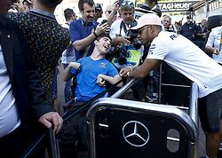 May 25, 2018 - Monte Carlo, Monaco - Motorsports: FIA Formula One World Championship 2018, Grand Prix of Monaco, ..#44 Lewis Hamilton (GBR, Mercedes AMG Petronas Motorsport) (Credit Image: © Hoch Zwei via ZUMA Wire)