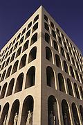 Palazzo della Civilt? del Lavoro EUR Rome Lazio Italy